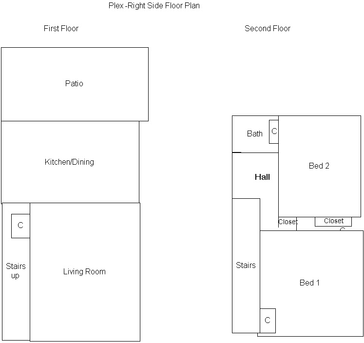 Right side floor plan